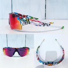 Oakley Radarlock Stickerbomb ready to hit the road! @aliciahelderweirt  #oakley #radarlock #prizmroad #stickerbomb #hydrodip #optiekdhondt #cycling #eyewear #sunglasses #sportglasses #ronse by fashion4eyes_by_optiekdhondt
