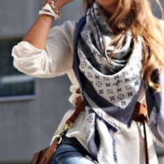 cute lv scarf
