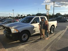Orlando and sydne, we're so excited for all the places you'll go in your 2012 Ram 1500!  Safe travels and best wishes on behalf of Benny Boyd Motor Company - Marble Falls and DAKOTA KITCHENS.