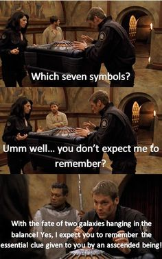 Stargate movie - The Ark of Truth