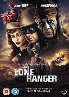 The Lone Ranger, Johnny Depp, Armie Hammer, William Fichtner, Tom Wilkinson, Ruth Wilson, Helena Bonham Carter, Gore Verbinski - quite funny in places - way too long.