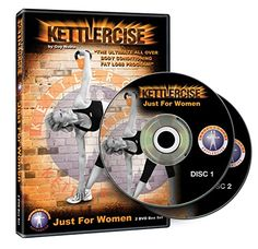 buy now   £24.99   NEWLY UPDATED 2013 Version, re filmed Kettlercise® Just for Women DVD Vol 1 just got even better. Women everywhere are loving the lightening quick results of Kettlercise  ...Read More