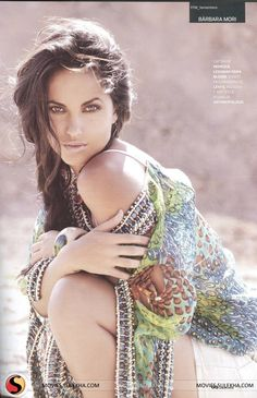 Barbara Mori GQ Mexico Magazine Photos