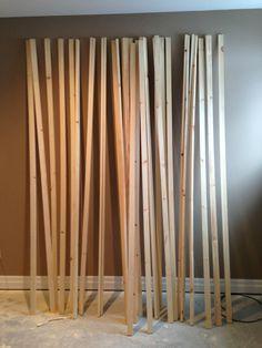 Bedroom Ikea Mandal 23 Ideas For 2019 Ikea Mandal Headboard, Diy Bed Headboard, Headboards For Beds, Custom Headboard, Diy Wall Decor, Diy Bedroom Decor, Diy Home Decor, Wood Slat Wall, Best Ikea