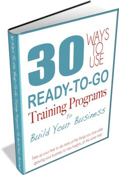 Grab the handy infographic, video training series, and other free samples and downloads to teach you how to build your business faster