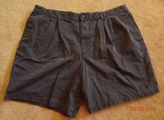 Claiborne Men's Navy Pre-Owned 44R Shorts 100% Cotton Made In China Machine Wash #Claiborne #CasualShorts