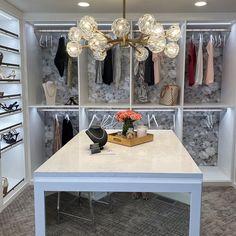How gorgeous is this custom dressing room from Michelle Mangini, design consultant with California Closets Upstate NY? #closetorganization #customclosets #walkincloset #dreamcloset #closetdesign California Closets, Custom Closets, Design Consultant, Closet Organization, Dressing Room, Nashville, Instagram, Custom Cabinetry, Walk In Closet