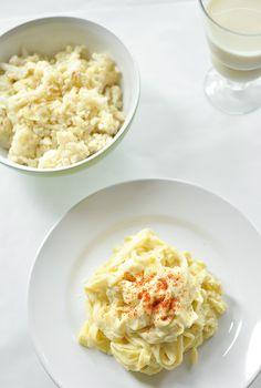 Cauliflower Tagliatelle Alfredo