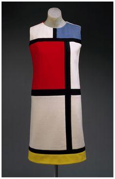 Yves Saint Laurent - Robe Mondrian