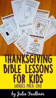 Thanksgiving Bible Lessons for Kids, Preschool, Thanksgiving Lessons for Church, Church, Faith, Kids, Children