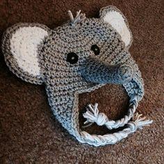 Ravelry: Ferdinand the Elephant Hat (Newborn) pattern by Willow&Mason