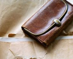 Victorian Leather Wallet