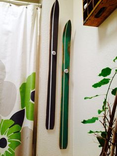 ski towel racks