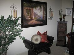 Front room, home office merchandising project