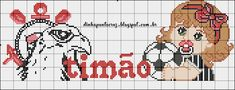 Domingo abençoado a todos! C2c, Cross Stitch, Knitting, Fictional Characters, Alice, Leggings, Facebook, Cross Stitch Baby, Farmhouse Rugs