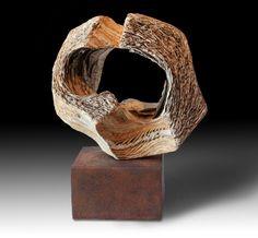 "Juan Ramón Gimeno DESAIRE (Snub) Ceramic sculpture                                                                      14.9/16"" x 13· x 7.1/16""                                                         Iron base 13""x 7.11/16"" x 4.3/4"" High Art, Pottery Art, Kitsch, Earthy, Stoneware, Porcelain, Bird, Glass, Outdoor Decor"