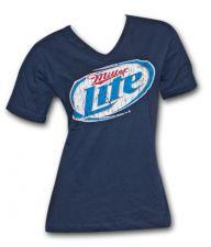 Miller Lite Women's V-Neck Shirt