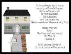 Housewarming Party Invitation Wording New Remodel Housewarming