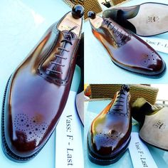 Ascot Shoes — All Vass Shoes are individually hand stitched...