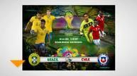 Live™ Watch Brazil vs Chile Live Stream Online FIFA World Cup 2014 Free
