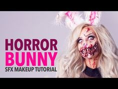 Snow bunny makeup Videos is part of Snow Bunny Makeup Winter Nights Video Dailymotion - Horror bunny special fx makeup tutorial Ellimacs Sfx Makeup Horror bunny special fx makeup tutorial Team Ellimacs brings you… HauntersWeb Bunny Halloween Makeup, Bunny Makeup, Scarecrow Makeup, Amazing Halloween Makeup, Zombie Bunny, Halloween Carnival, Halloween Costumes, Halloween Halloween, Horror Makeup
