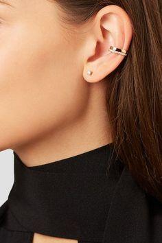 fee3b469c Anita Ko - 18-karat Rose Gold Diamond Ear Cuff - one size Diamond Earing