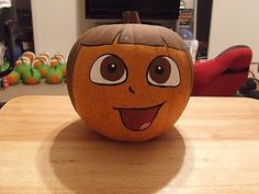 Dora the Explorer Pumpkin