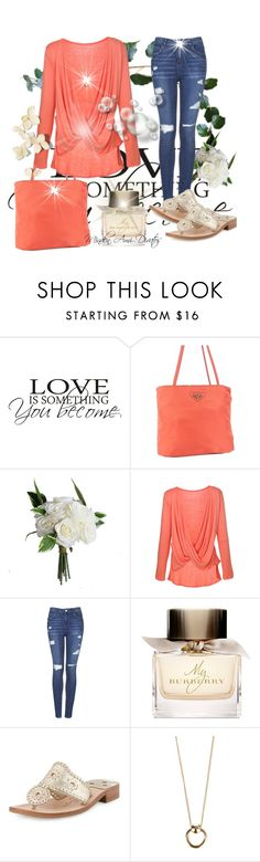 """Untitled #138"" by mtmariannat on Polyvore featuring Prada, Topshop, Burberry, Jack Rogers and Luv Aj"