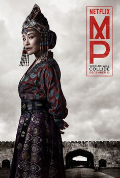 Joan Chen as the Empress Chabi, Marco Polo - Netflix - www.sofaypalomitas.com