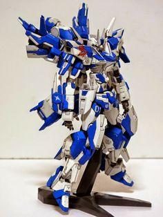 GUNDAM GUY: HG 1/144 Gundam AGE-FX Kit-bash - Custom Build