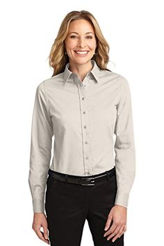 Ladies Long Sleeve Easy Care Shirt
