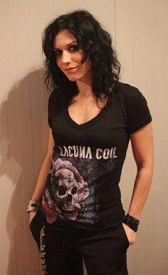 Cristina Scabbia (Lacuna Coil) Potential hair style
