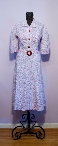 1930's feedsack dress