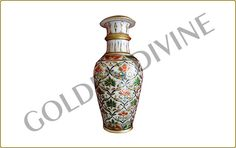 Marble handicrafts vases