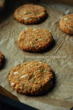 Wegetariańskie burgery z ciecierzycy i batatów - Dietetyczne Fanaberie Muffin, Cookies, Breakfast, Food, Crack Crackers, Morning Coffee, Biscuits, Essen, Muffins