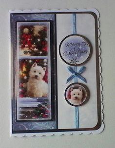 Hunkydory Christmas card.