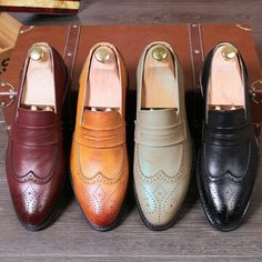 $27.98 <Click to buy> Vintage Tassel Leather Shoes Male