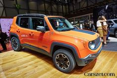 'Live' photo of the new 2018-2019 Jeep Renegade