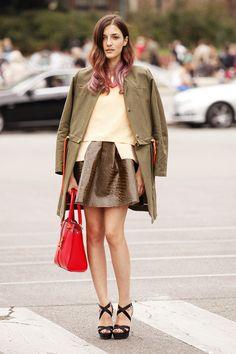 Milan Fashion Week: Eleonora Carisi ♥