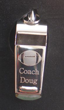 Football Whistle-Engraved Football Whistle