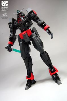 MG 1/100 Gundam AGE-1 Spallow Ver.Black: Modeled by Vorom