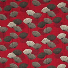 Sanderson - Design details. Dandelion clocks fabric for curtains in kitchen and dining room.