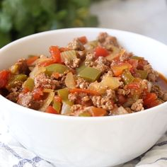 [ Keto Chili recipe that is whipped together in just 10 minutes and cooked in the slow cooker. This is the easiest healthy weeknight dinner the whole family will love. The post Keto Chili Recipe (No Bean Chili) appeared first on Keto Recipes. Keto Chili Recipe, Keto Crockpot Recipes, Chili Recipes, Low Carb Recipes, Healthy Weeknight Dinners, Healthy Dinner Recipes, Cena Keto, Comida Keto, Keto Dinner