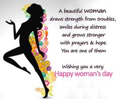 Happy Women's Day to Every Beautiful Women on this earth. The world without you is incomplete. International Women's Day Message, International Womens Day March 8, Women's Day 8 March, 8th Of March, Happy Womens Day Quotes, Happy Quotes, March Quotes, 2015 Quotes, Quotes Images