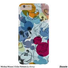 Mickey Mouse | Color Pattern