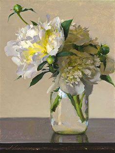 Spring Peonies by Jeffrey T. Larson