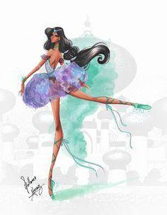 Disney Princesses Ballet Classics: Jasmine.