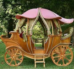 Magical Carriage! I would have it stationary I think... well maybe ;)