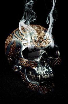 Celtic+Skull+by+el-larso.deviantart.com+on+@deviantART