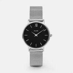 Minuit Mesh Silver/Black